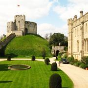 Arundel Castle in West Sussex